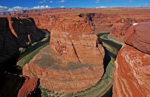 Panorama des Horseshoe Bend